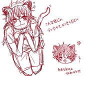 ブン太と赤也でネコミミ(*´Д`)
