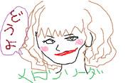 【メロンソーダ】踊らずに自画像を書いてみた【マウスで】