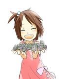 タンポポの花飾り