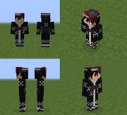 【Minecraft 】蜘蛛浴衣
