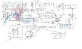 今朝のうちのニコ生放送の原発論放送で説明して放送中に描いた図