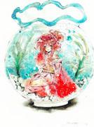 金魚の擬人化【オリジナル】