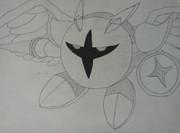 星のカービィ20周年だしギャラクティックナイト描いてみた