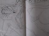 トリコのツンドラドラゴン描いてみた♪