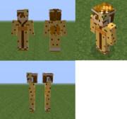 【Minecraft】山猫浴衣