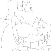 ピーチ姫塗り絵その2