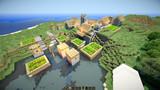 【Minecraft】水没村