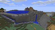 【Minecraft】 ダム