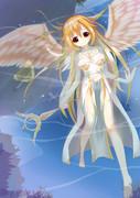 天使の水浴び