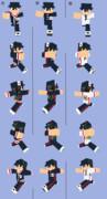 【Minecraft】オリンピック応援スキン