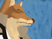 狛村隊長を絵心教室DSで描きました。