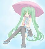 雨やむまで。