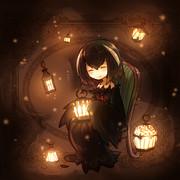 【オリジ】ランプと梟の魔女