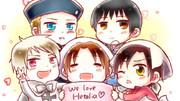 We love Hetalia♡