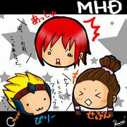 【MHD】チームBAS【描いてみた】