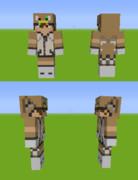 【Minecraft】グリフォンパーカーver.おいも