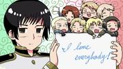 I love everybody!