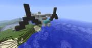 Minecraftで今話題のオスプレイ作ってみた