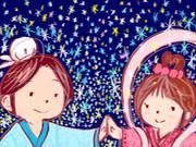 ☆七夕企画【ほしあいのそら】・「織姫と彦星」☆