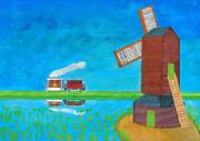 Tram & Windmill