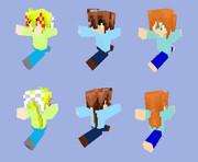 【Minecraft 】新クラフターさん達【再現】