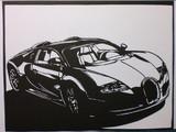 【切り絵】Bugatti Veyron