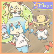 5月(テンキャラ合作カレンダー)