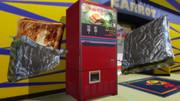 トーストサンド自販機とトーストサンドつくった。ヽ(・д・)ノ