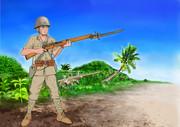 皇軍南方をゆく (九九式小銃)
