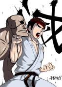 滅・昇龍拳二段目ヒット
