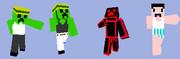 【Minecraft スキン】 スキン適用画像まとめ