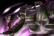 鋼鉄の戦士と狂気の少女