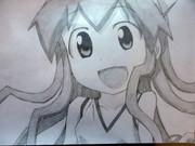 アニメ「侵略!?イカ娘」 イカ娘を描いてみたでゲソ