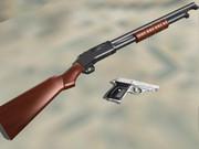 【MMD】Winchester M1897 & SIG SAUER P230SL
