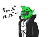 【ショー限定キャラ】仮面ライダーチョップホッパー