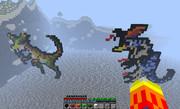 Minecraftで(ドス)ランポスとゲネポス作ってみた。