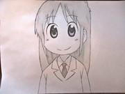 アニメ「日常」 はかせを描いてみた リベンジ編