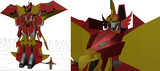 【MMD製作状況】L式BS型第三世代モデル 鳳凰合体マッハスペリオン 07