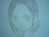 サザエさんを美人に描いてみた