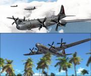 B-29は離陸しました