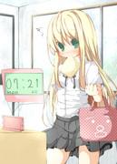 07:21になると毎朝デジタル時計の表示を見ていちいち興奮しちゃう電マノーパン金髪幼女
