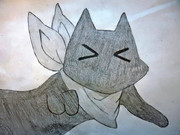 アニメ「日常」 阪本さんを描いてみた