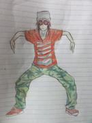 【ただのんさん】某赤い髪の踊り手さんに色をつけてみた【ごめんなさい】
