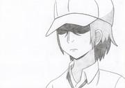 男子高校生の日常 唐沢 模写してみた