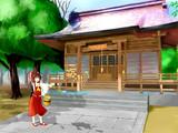 真夏の博麗神社