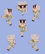 【Minecraft】アイアンゴーレムパーカー