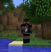 【スキン紹介】「イワナの怪」木こり頭領【Minecraft】