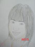 河西智美の似顔絵2