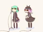 【GIFアニメ】あんまりパンクじゃない鳥獣伎楽