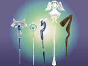 【配布】魔法の杖らしきもの五種